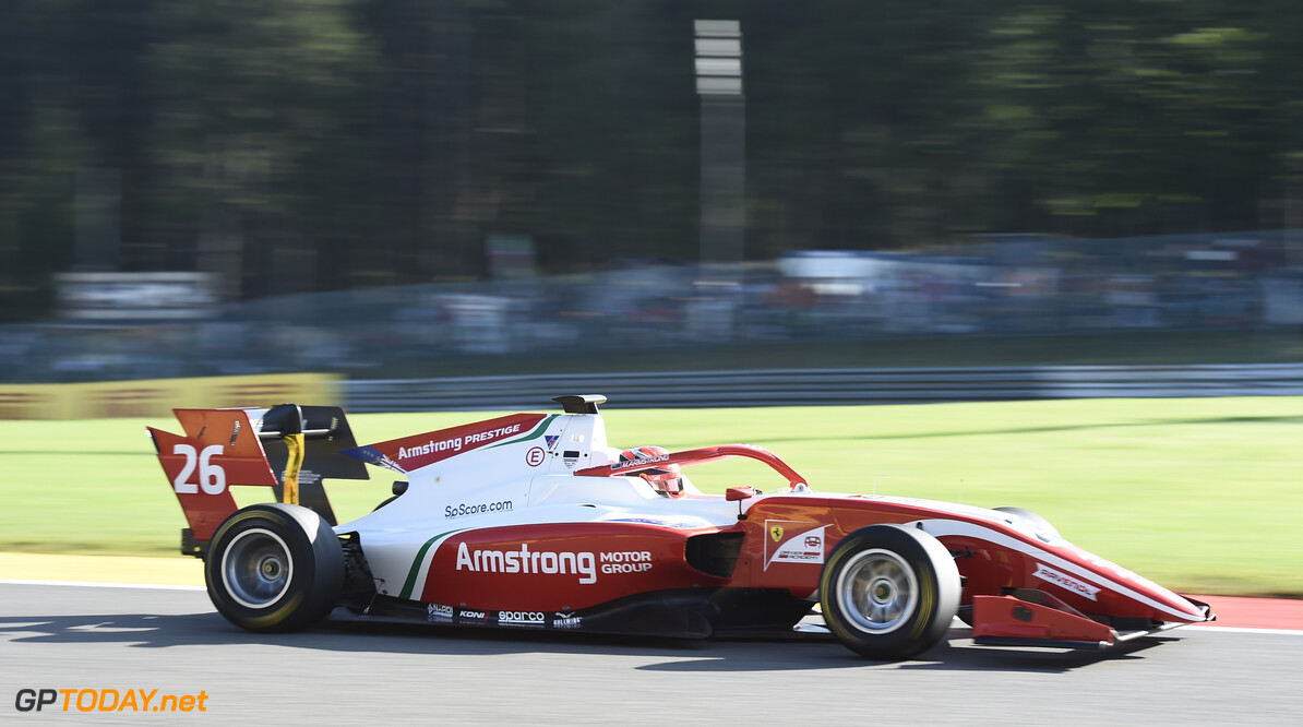 FIA Formula 3 SPA-FRANCORCHAMPS, BELGIUM - AUGUST 30: Marcus Armstrong (NZL, PREMA Racing) during the Spa-Francorchamps at Spa-Francorchamps on August 30, 2019 in Spa-Francorchamps, Belgium. (Photo by Gareth Harford / LAT Images / FIA F3 Championship) FIA Formula 3 Gareth Harford  Belgium  FIA Formula 3 F3 Formula 3 FIA F3