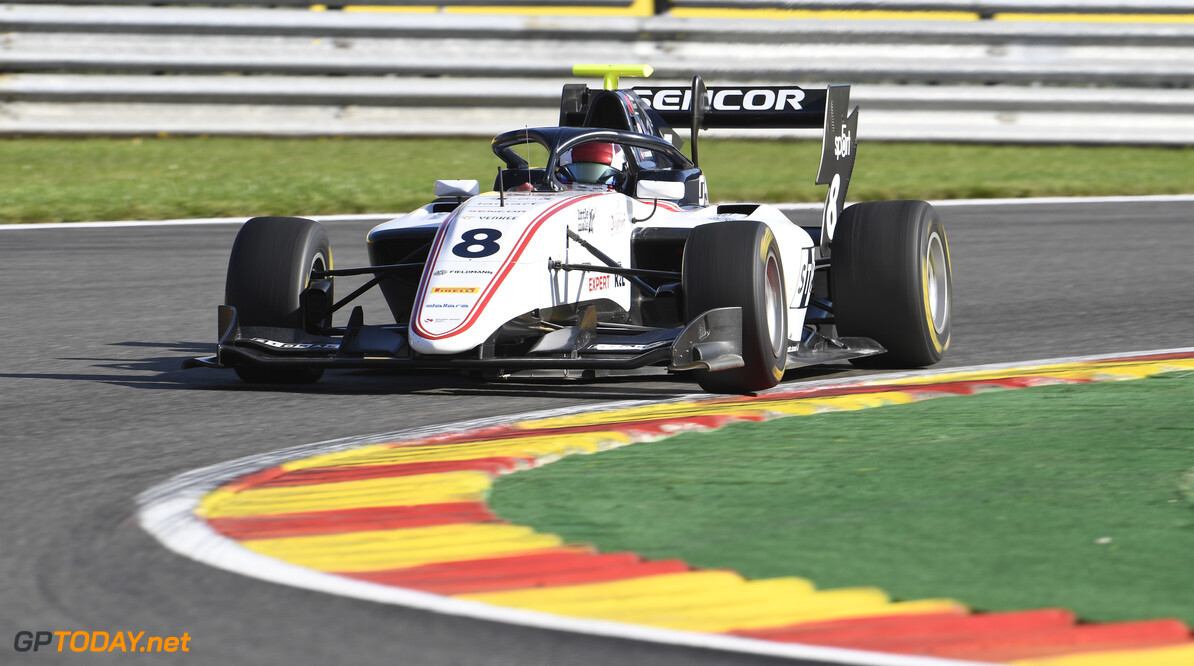 FIA Formula 3 SPA-FRANCORCHAMPS, BELGIUM - AUGUST 30: Fabio Scherer (CHE, Sauber Junior Team by Charouz) during the Spa-Francorchamps at Spa-Francorchamps on August 30, 2019 in Spa-Francorchamps, Belgium. (Photo by Gareth Harford / LAT Images / FIA F3 Championship) FIA Formula 3 Gareth Harford  Belgium  FIA Formula 3 F3 Formula 3 FIA F3