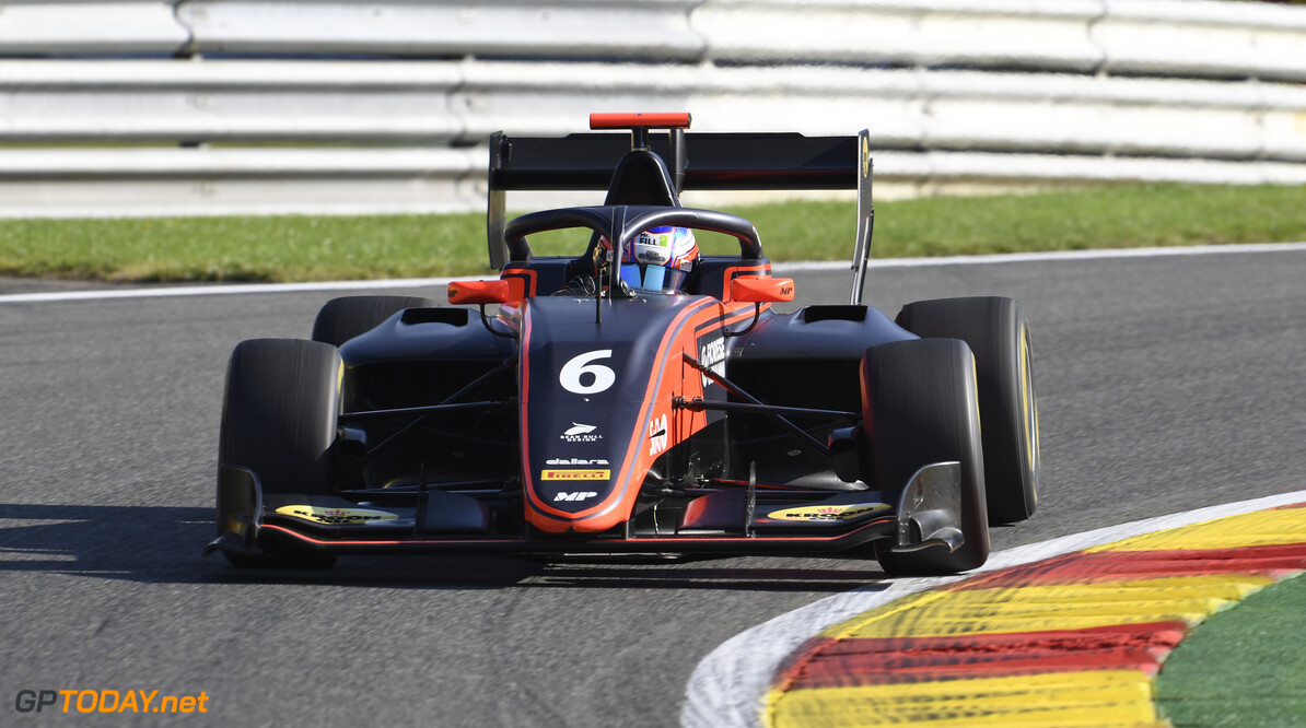 FIA Formula 3 SPA-FRANCORCHAMPS, BELGIUM - AUGUST 30: Richard Verschoor (NLD, MP Motorsport) during the Spa-Francorchamps at Spa-Francorchamps on August 30, 2019 in Spa-Francorchamps, Belgium. (Photo by Gareth Harford / LAT Images / FIA F3 Championship) FIA Formula 3 Gareth Harford  Belgium  FIA Formula 3 F3 Formula 3 FIA F3
