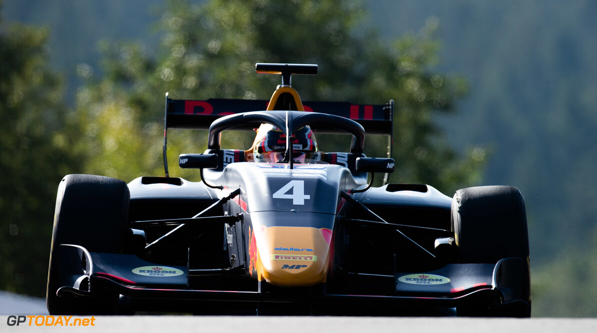 FIA Formula 3 SPA-FRANCORCHAMPS, BELGIUM - AUGUST 30: Liam Lawson (NZL, MP Motorsport) during the Spa-Francorchamps at Spa-Francorchamps on August 30, 2019 in Spa-Francorchamps, Belgium. (Photo by Joe Portlock / LAT Images / FIA F3 Championship) FIA Formula 3 Joe Portlock  Belgium  FIA Formula 3 F3 Formula 3 FIA F3
