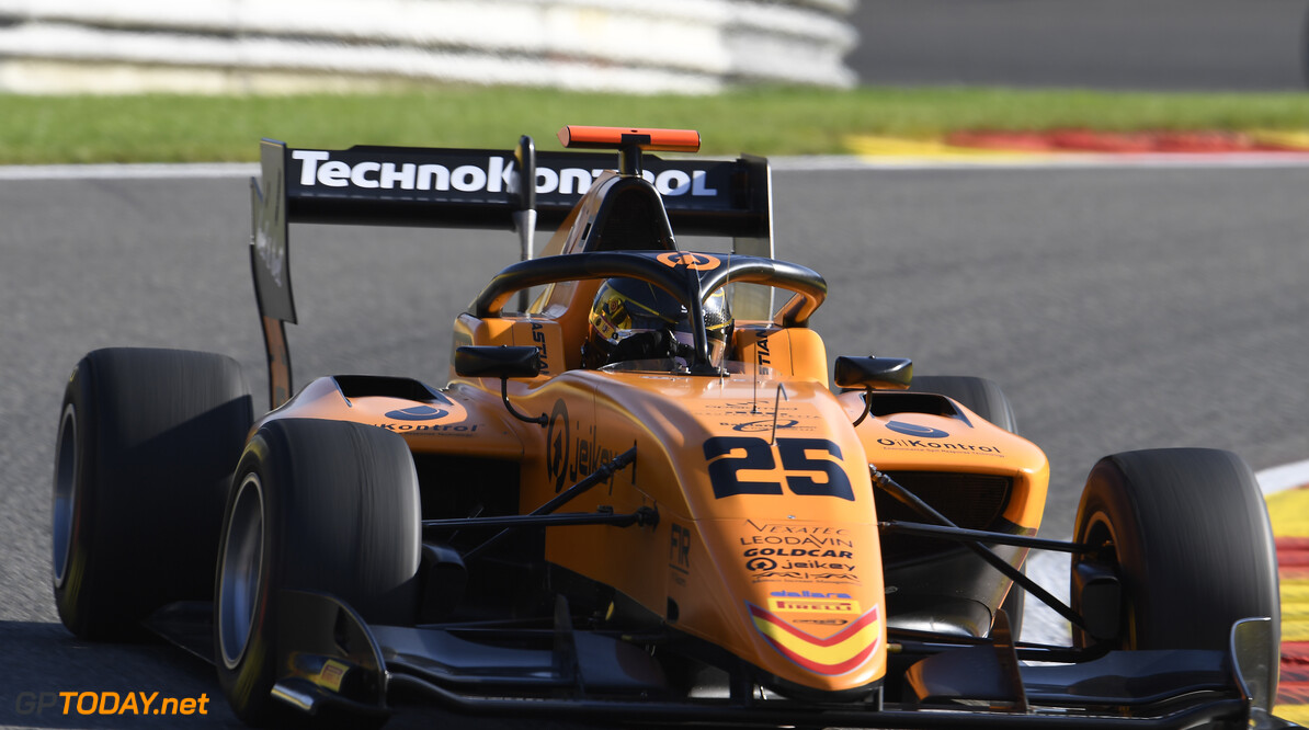 FIA Formula 3 SPA-FRANCORCHAMPS, BELGIUM - AUGUST 30: Sebastian Fernandez (ESP, Campos Racing) during the Spa-Francorchamps at Spa-Francorchamps on August 30, 2019 in Spa-Francorchamps, Belgium. (Photo by Gareth Harford / LAT Images / FIA F3 Championship) FIA Formula 3 Gareth Harford  Belgium  FIA Formula 3 F3 Formula 3 FIA F3