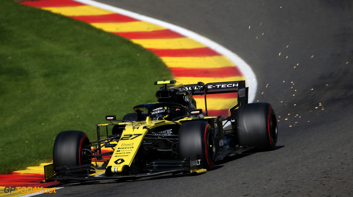 Formula One World Championship Nico Hulkenberg (GER), Renault Sport F1 Team  30.08.2019. Formula 1 World Championship, Rd 13, Belgian Grand Prix, Spa Francorchamps, Belgium, Practice Day. - www.xpbimages.com, EMail: requests@xpbimages.com - copy of publication required for printed pictures. Every used picture is fee-liable. (C) Copyright: Charniaux / XPB Images Motor Racing - Formula One World Championship - Belgian Grand Prix - Practice Day - Spa Francorchamps, Belgium XPB Images Spa Francorchamps Belgium  Formel1 Formel F1 Formula 1 Formula1 GP Grand Prix one Circuit de Spa-Francorchamps Friday August Spa Francorchamps Belgium Belgian 30 8 08 2019 Action Track