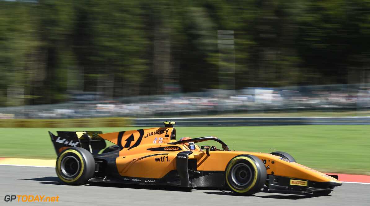 FIA Formula 2 SPA-FRANCORCHAMPS, BELGIUM - AUGUST 30: Jack Aitken (GBR, CAMPOS RACING) during the Spa-Francorchamps at Spa-Francorchamps on August 30, 2019 in Spa-Francorchamps, Belgium. (Photo by Gareth Harford / LAT Images / FIA F2 Championship) FIA Formula 2 Gareth Harford  Belgium  FIA Formula 2