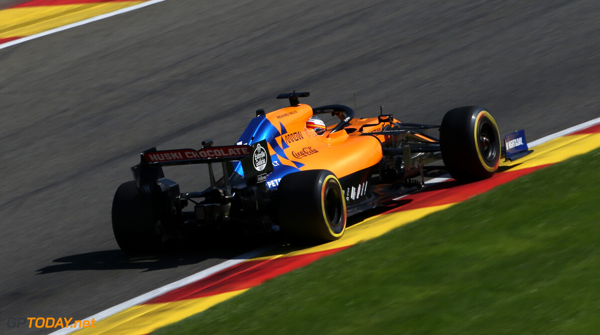 Formula One World Championship Carlos Sainz Jr (ESP), McLaren F1 Team  30.08.2019. Formula 1 World Championship, Rd 13, Belgian Grand Prix, Spa Francorchamps, Belgium, Practice Day. - www.xpbimages.com, EMail: requests@xpbimages.com - copy of publication required for printed pictures. Every used picture is fee-liable. (C) Copyright: Charniaux / XPB Images Motor Racing - Formula One World Championship - Belgian Grand Prix - Practice Day - Spa Francorchamps, Belgium XPB Images Spa Francorchamps Belgium  Formel1 Formel F1 Formula 1 Formula1 GP Grand Prix one Circuit de Spa-Francorchamps Friday August Spa Francorchamps Belgium Belgian 30 8 08 2019 Action Track