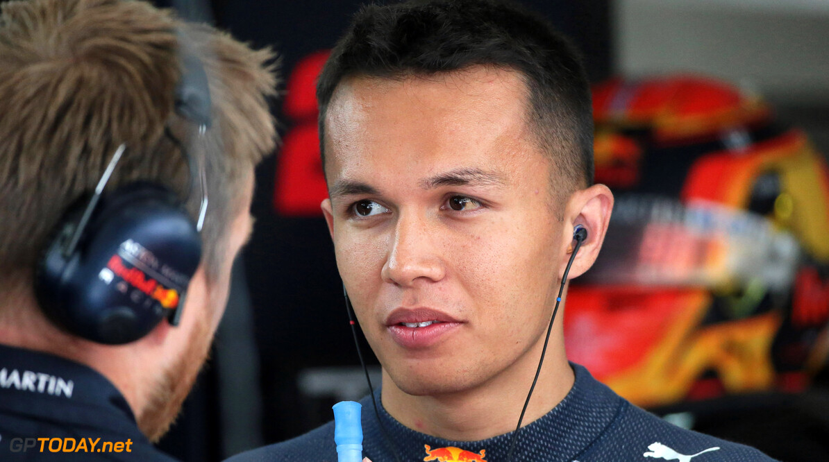 Horner 'impressed' by Albon's Red Bull debut