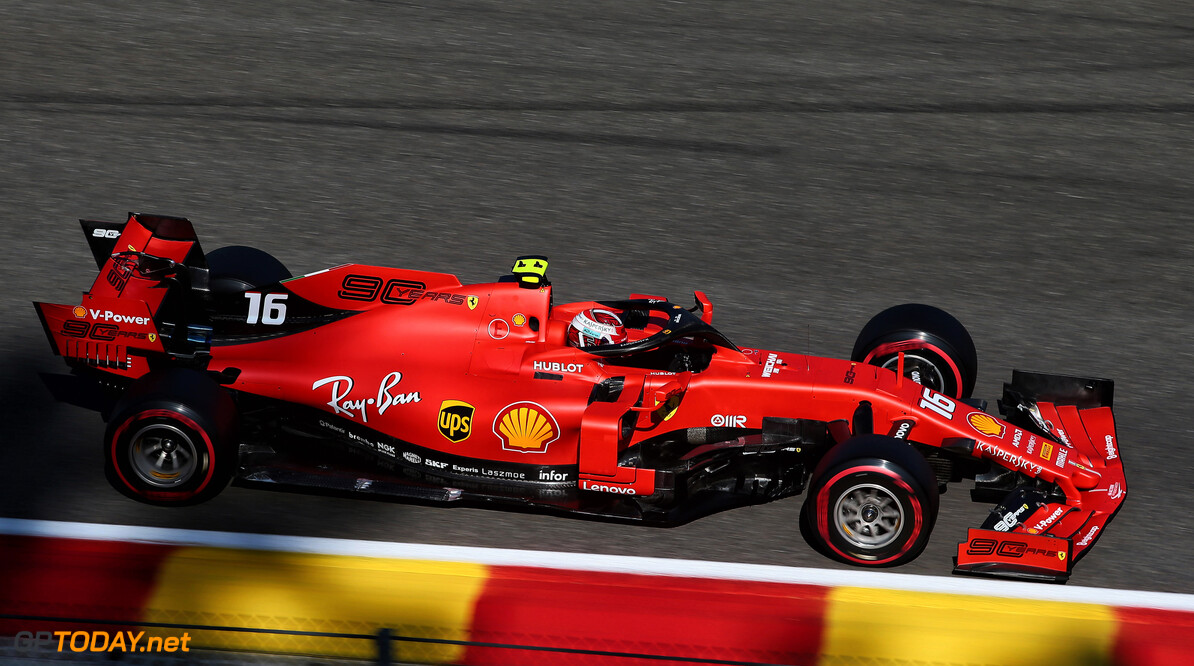 <strong>FP3:</strong> Leclerc fastest, Hamilton crashes out