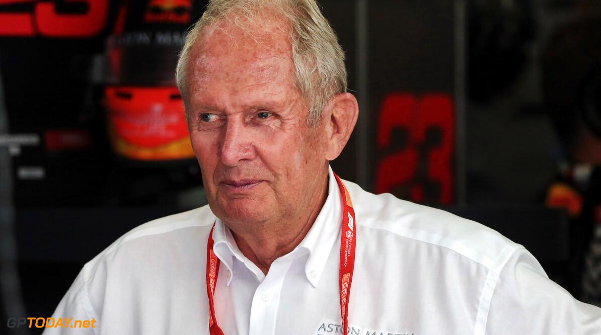 """Helmut Marko: """"Verstappen kan profiteren van onderlinge strijd bij Ferrari"""""""