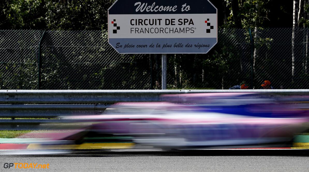 Sergio Perez, Racing Point RP19 during FP2  Glenn Dunbar    practice GP19013b GP19013b_M F1 GP Spa-Francorchamps Spa Belgium Belgian