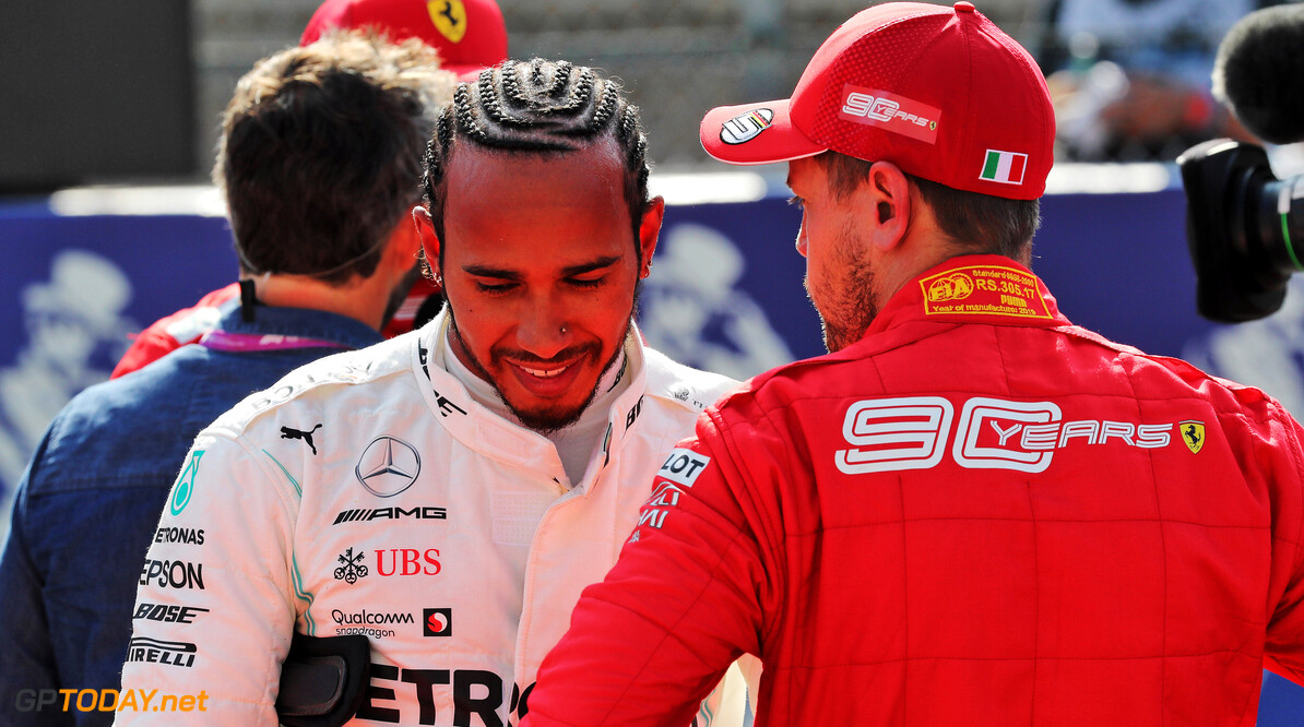 Vettel: Hamilton's titles not solely down to strong cars