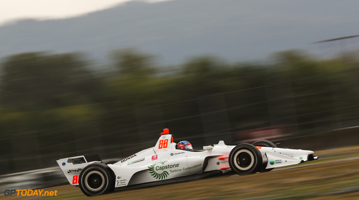 <strong>Qualifying:</strong> Herta beats Power and Dixon to pole