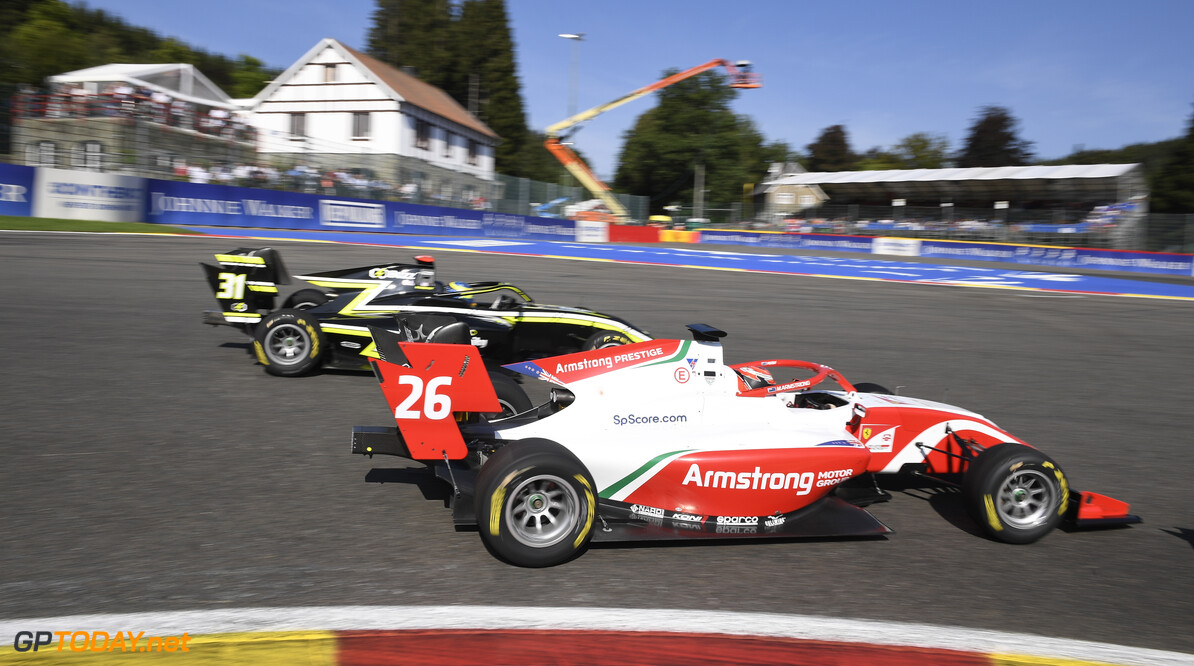 FIA Formula 3 SPA-FRANCORCHAMPS, BELGIUM - AUGUST 31: Marcus Armstrong (NZL, PREMA Racing) during the Spa-Francorchamps at Spa-Francorchamps on August 31, 2019 in Spa-Francorchamps, Belgium. (Photo by Gareth Harford / LAT Images / FIA F3 Championship) FIA Formula 3 Gareth Harford  Belgium  FIA Formula 3 race 1 F3 Formula 3 FIA F3