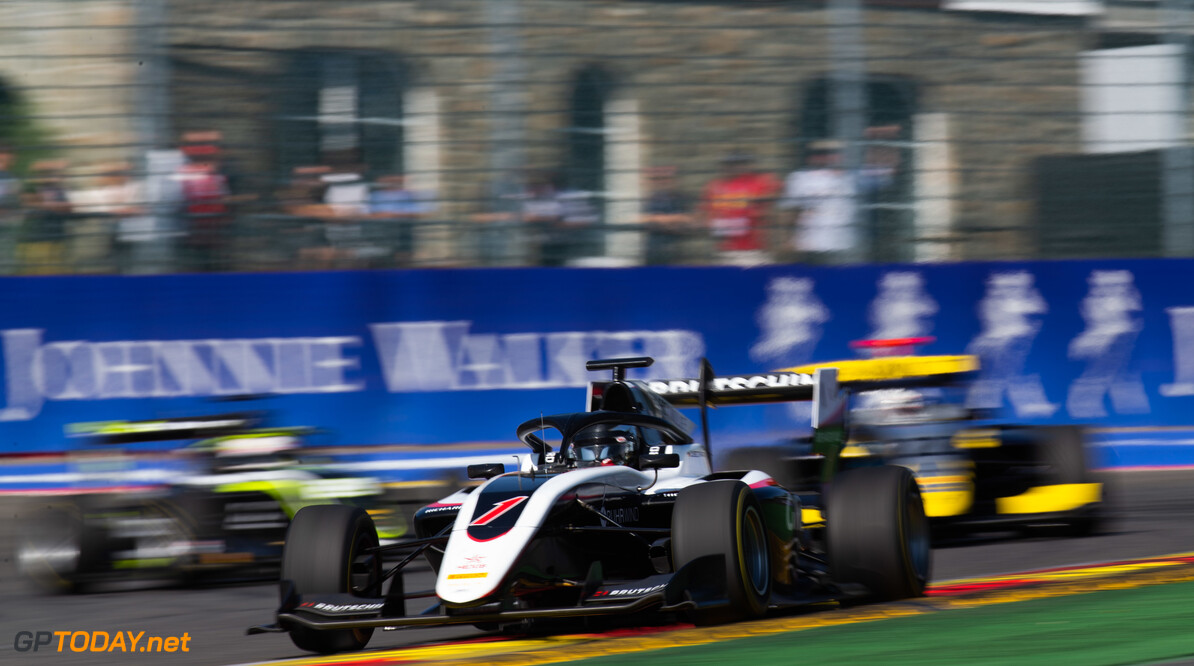 FIA Formula 3 SPA-FRANCORCHAMPS, BELGIUM - AUGUST 31: David Beckmann (DEU, ART Grand Prix) during the Spa-Francorchamps at Spa-Francorchamps on August 31, 2019 in Spa-Francorchamps, Belgium. (Photo by Joe Portlock / LAT Images / FIA F3 Championship) FIA Formula 3 Joe Portlock  Belgium  FIA Formula 3 race 1 F3 Formula 3 FIA F3