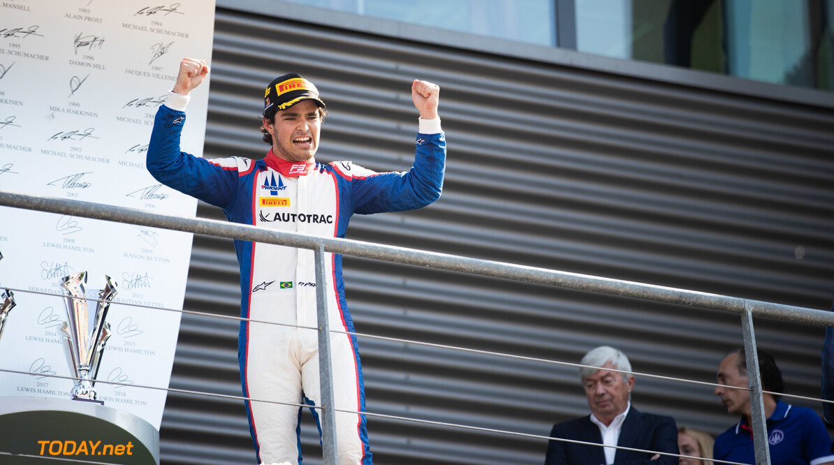 FIA Formula 3 SPA-FRANCORCHAMPS, BELGIUM - AUGUST 31: Pedro Piquet (BRA, Trident) during the Spa-Francorchamps at Spa-Francorchamps on August 31, 2019 in Spa-Francorchamps, Belgium. (Photo by Joe Portlock / LAT Images / FIA F3 Championship) FIA Formula 3 Joe Portlock  Belgium  FIA Formula 3 race 1 F3 Formula 3 FIA F3