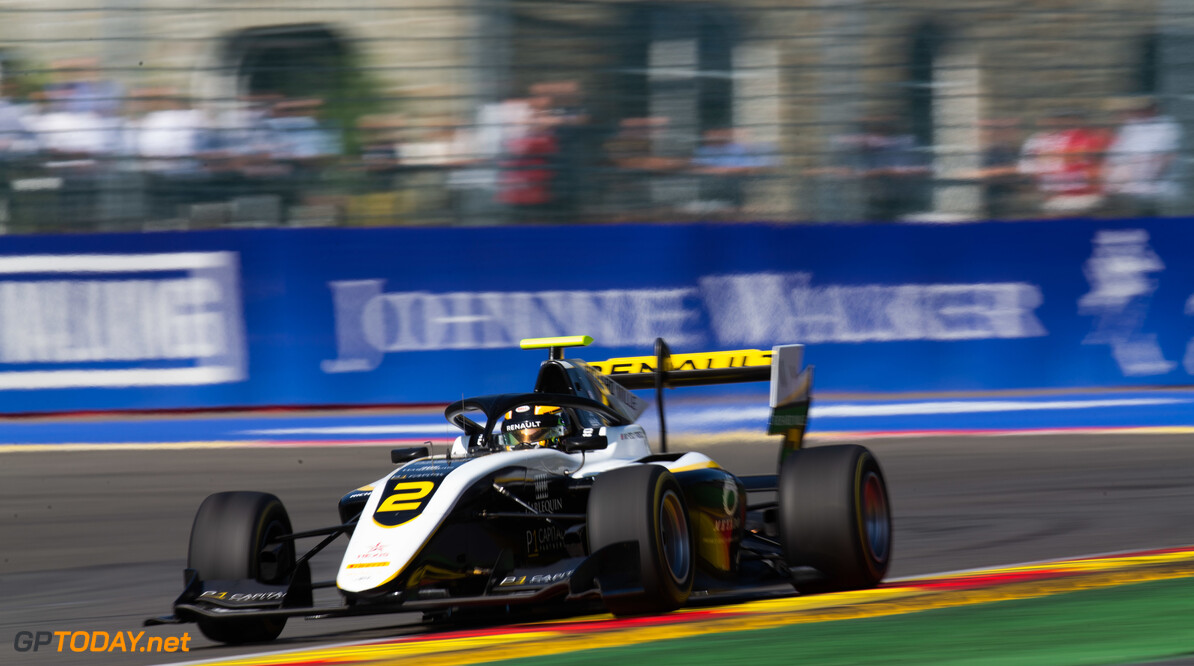 FIA Formula 3 SPA-FRANCORCHAMPS, BELGIUM - AUGUST 31: Max Fewtrell (GBR, ART Grand Prix) during the Spa-Francorchamps at Spa-Francorchamps on August 31, 2019 in Spa-Francorchamps, Belgium. (Photo by Joe Portlock / LAT Images / FIA F3 Championship) FIA Formula 3 Joe Portlock  Belgium  FIA Formula 3 race 1 F3 Formula 3 FIA F3