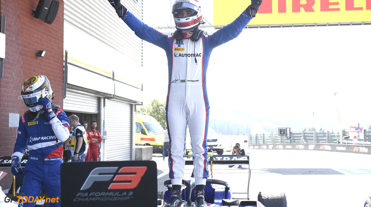FIA Formula 3 SPA-FRANCORCHAMPS, BELGIUM - AUGUST 31: Pedro Piquet (BRA, Trident) during the Spa-Francorchamps at Spa-Francorchamps on August 31, 2019 in Spa-Francorchamps, Belgium. (Photo by Gareth Harford / LAT Images / FIA F3 Championship) FIA Formula 3 Gareth Harford  Belgium  FIA Formula 3 race 1 F3 Formula 3 FIA F3