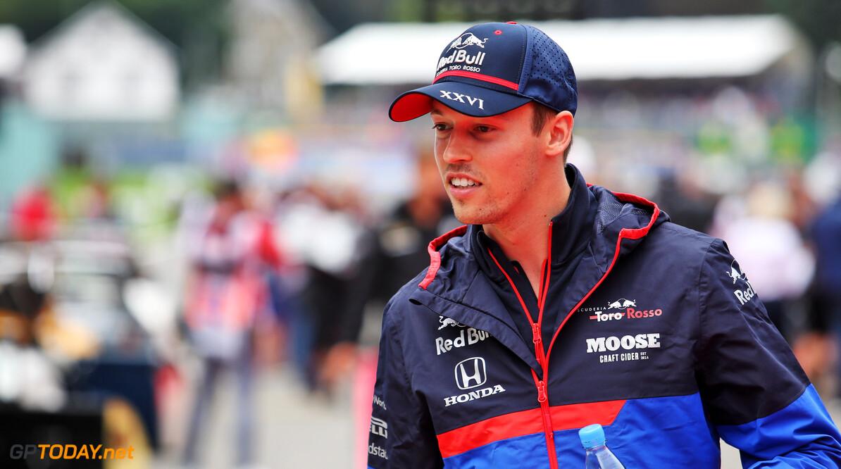 Kvyat begrijpt niets van lofuitingen voor Albon na Belgische GP