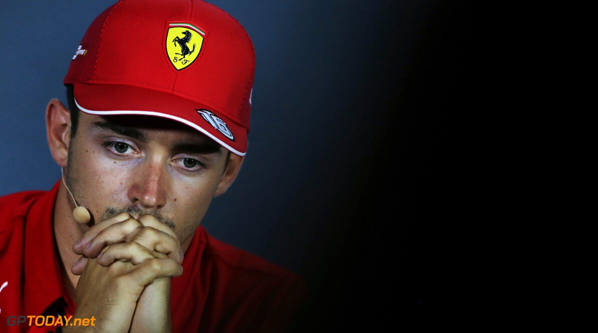 <b>VT1</b>: Leclerc op mediums snelste op opdrogende baan in Italië