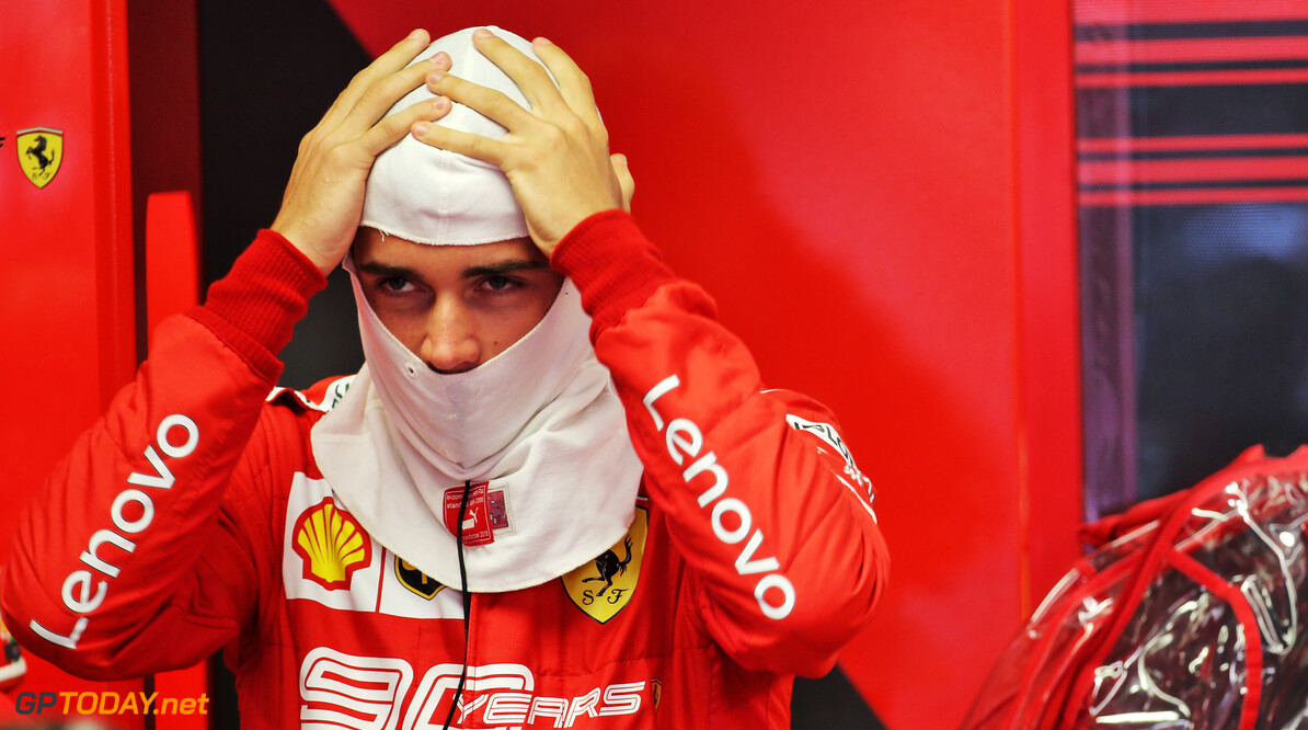 """Leclerc na tweede opeenvolgende pole: """"Het was een chaos"""""""