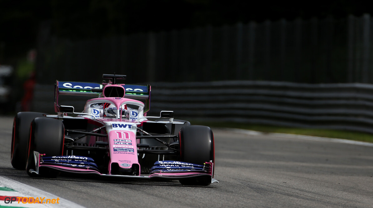 Perez halis positive Monza weekend after disappointing qualifying