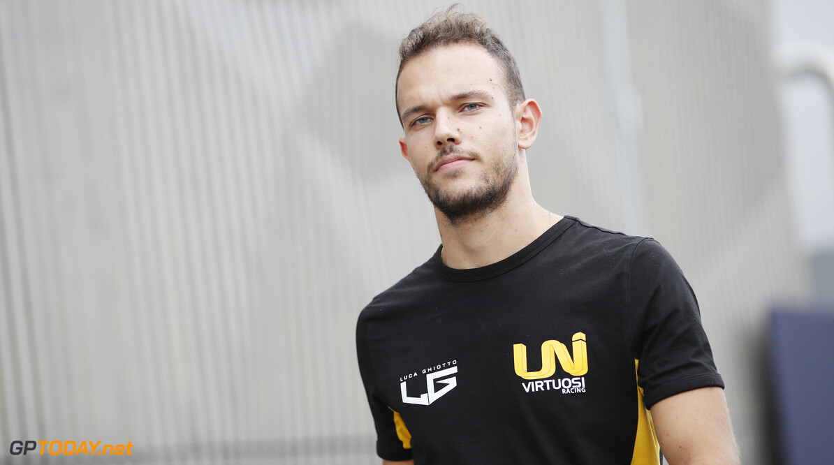 FIA Formula 2 AUTODROMO NAZIONALE MONZA, ITALY - SEPTEMBER 05: Luca Ghiotto (ITA, UNI VIRTUOSI) during the Monza at Autodromo Nazionale Monza on September 05, 2019 in Autodromo Nazionale Monza, Italy. (Photo by Joe Portlock / LAT Images / FIA F2 Championship) FIA Formula 2 Joe Portlock  Italy  FIA Formula 2