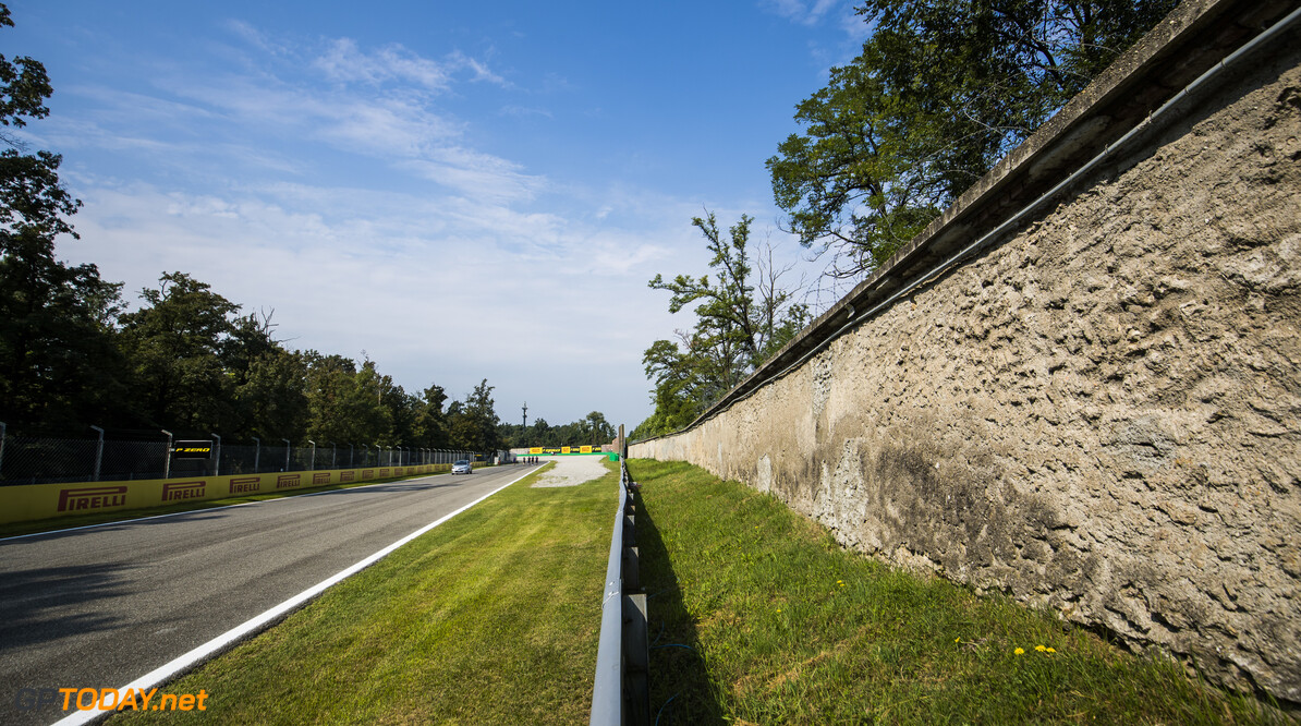 FIA Formula 2 AUTODROMO NAZIONALE MONZA, ITALY - SEPTEMBER 05: Track Detail during the Monza at Autodromo Nazionale Monza on September 05, 2019 in Autodromo Nazionale Monza, Italy. (Photo by Sam Bloxham / LAT Images / FIA F2 Championship) FIA Formula 2 Sam Bloxham  Italy  FIA Formula 2