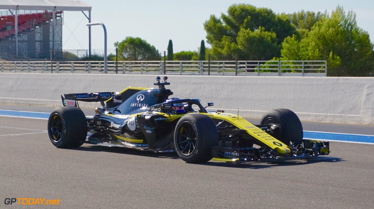 Sirotkin ends opening day of 18-inch tyre testing at Paul Ricard