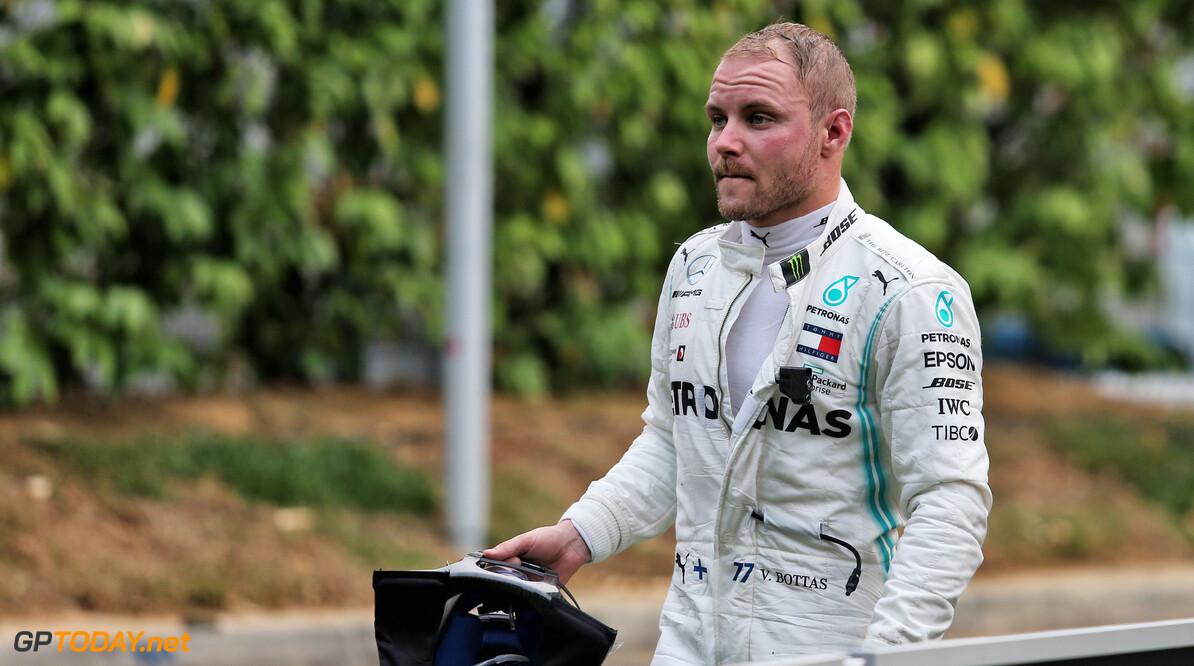 """Bottas boos op Hamilton: """"Inhaalactie in outlap verpestte mijn laatste ronde"""""""