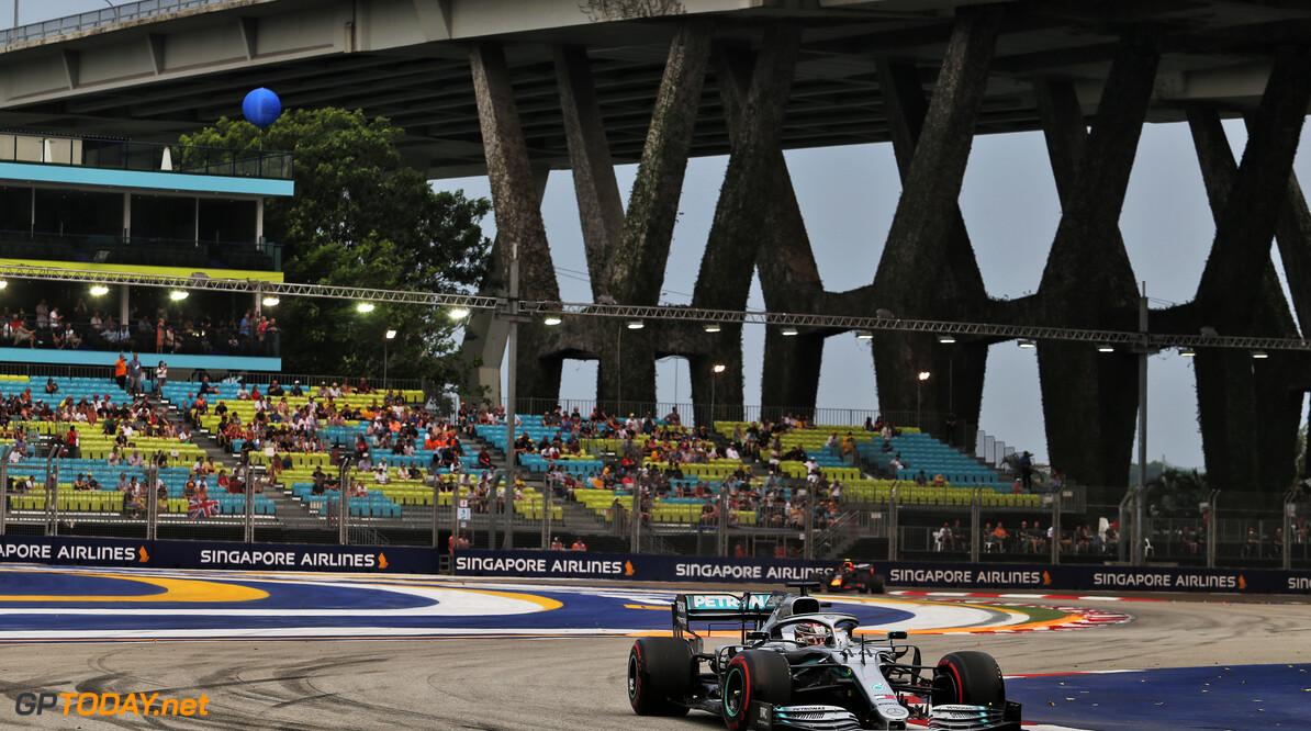 Boete voor Mercedes voor afwijkingen in brandstoftemperatuur bij Hamilton