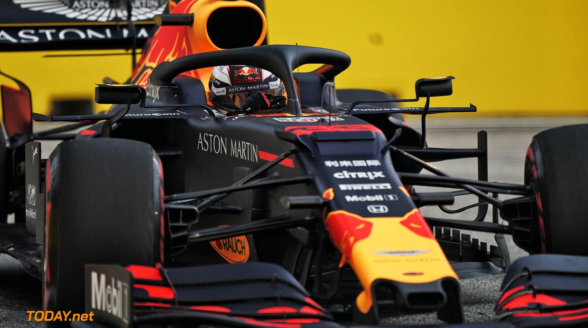 <b>VT2</b>: Hamilton snelste in Singapore, tweede tijd voor Verstappen
