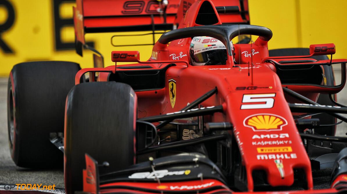 Vettel: Ferrari can improve, but Mercedes 'very fast'
