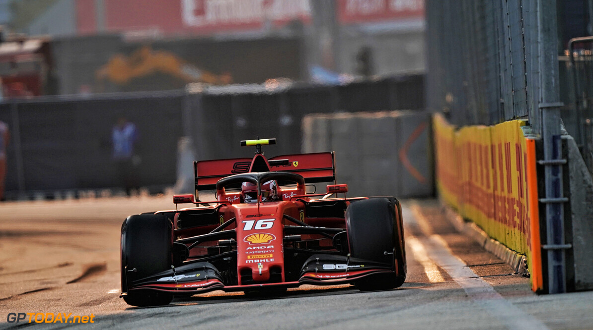 <strong>Qualifying</strong> Leclerc beats Hamilton, Vettel to pole in Singapore