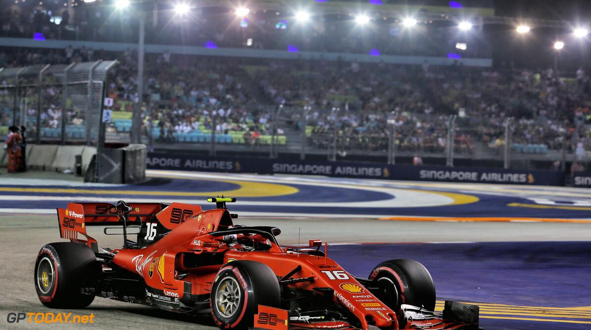 <b>Kwalificatie</b>: Derde pole op rij voor Leclerc, Verstappen vierde