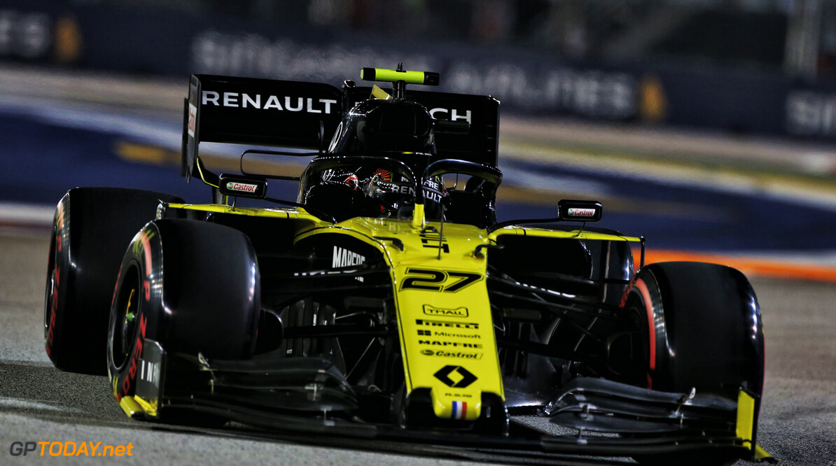 Renault expect a tough race in Singapore