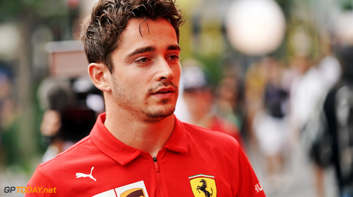 Leclerc: 'Too far' to be compared to Michael Schumacher