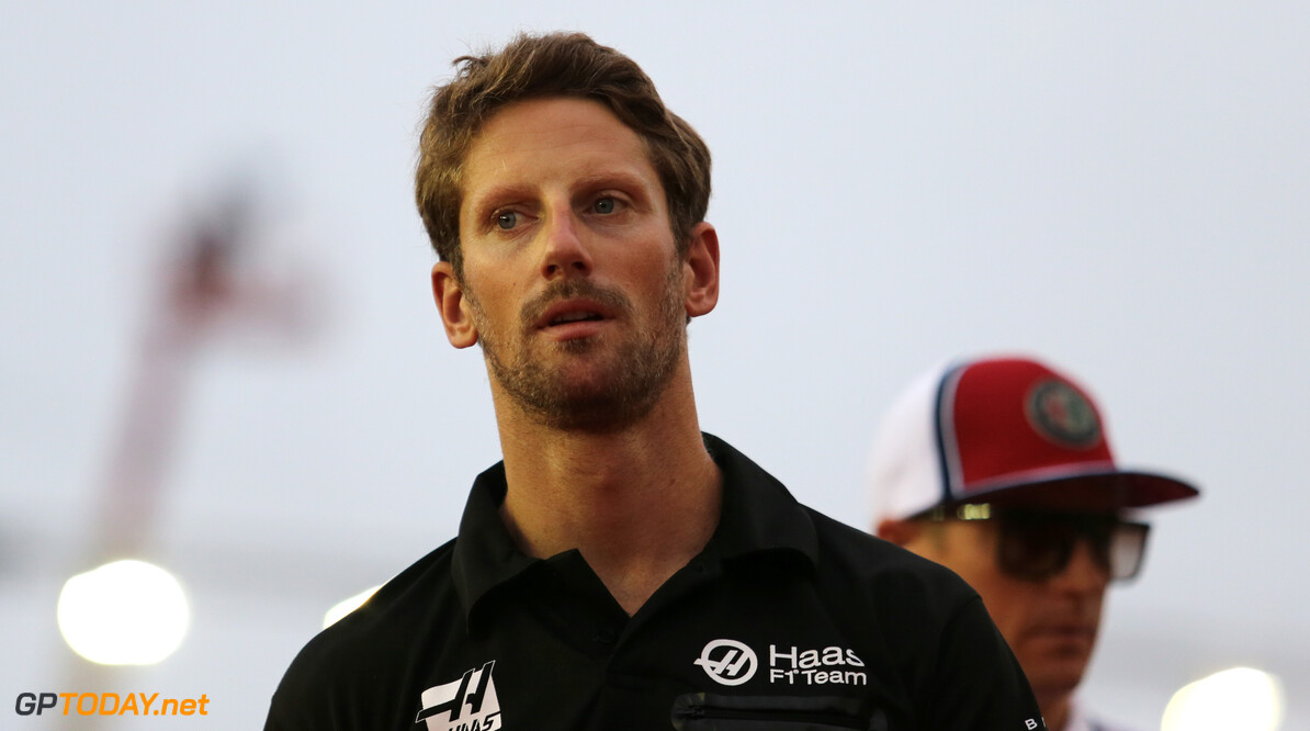 Formula One World Championship Romain Grosjean (FRA), Haas F1 Team  22.09.2019. Formula 1 World Championship, Rd 15, Singapore Grand Prix, Marina Bay Street Circuit, Singapore, Race Day. - www.xpbimages.com, EMail: requests@xpbimages.com - copy of publication required for printed pictures. Every used picture is fee-liable. (C) Copyright: Charniaux / XPB Images Motor Racing - Formula One World Championship - Singapore Grand Prix - Race Day - Singapore, Singapore XPB Images Singapore Singapore  Formel1 Formel F1 Formula 1 Formula1 GP Grand Prix one Marina Bay Street Circuit September Singapore Sunday 22 9 09 2019 Portrait