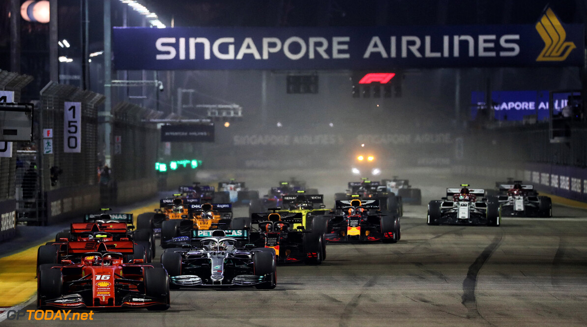 Singapore remain in talks with F1 despite doubt over 2020 race
