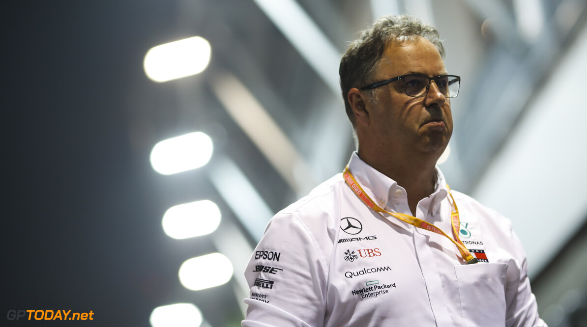 2019 Singapore GP SINGAPORE STREET CIRCUIT, SINGAPORE - SEPTEMBER 20: Ron Meadows, Sporting Director, Mercedes AMG during the Singapore GP at Singapore Street Circuit on September 20, 2019 in Singapore Street Circuit, Singapore. (Photo by Joe Portlock / Motorsport Images) 2019 Singapore GP Joe Portlock  Singapore  Portrait