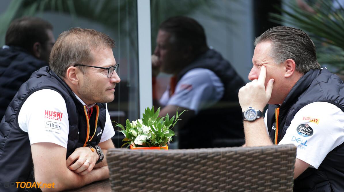 McLaren doet laatste zet in herstructurering na vertrek chef aerodynamica