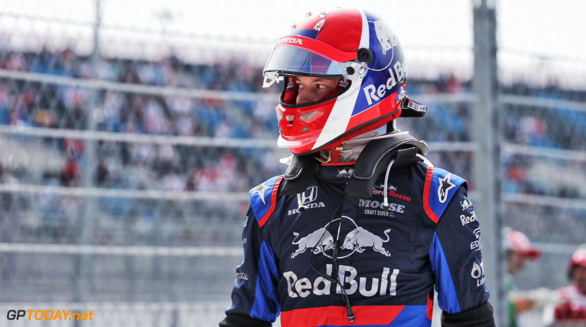 Kvyat may use new helmet design despite 'joke' rule