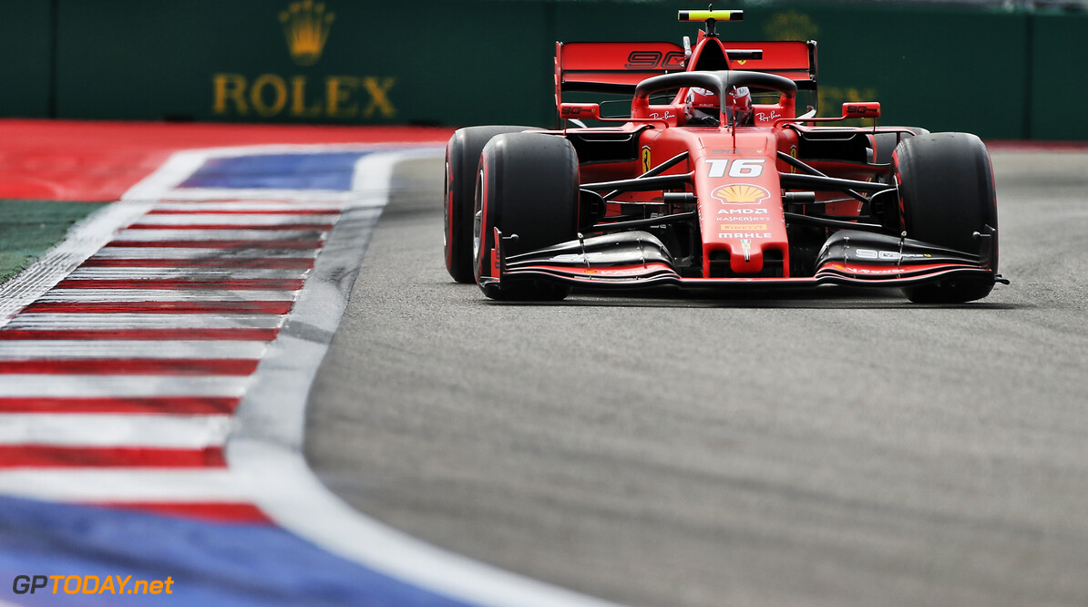 <strong>FP1:</strong> Leclerc narrowly heads Verstappen in Sochi