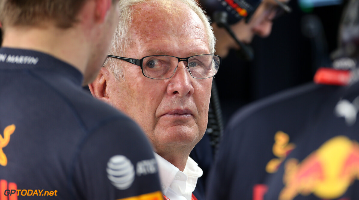 Formula One World Championship Helmut Marko (AUT), Red Bull Racing  27.09.2019. Formula 1 World Championship, Rd 16, Russian Grand Prix, Sochi Autodrom, Sochi, Russia, Practice Day. - www.xpbimages.com, EMail: requests@xpbimages.com - copy of publication required for printed pictures. Every used picture is fee-liable. (C) Copyright: Charniaux / XPB Images Motor Racing - Formula One World Championship - Russian Grand Prix - Practice Day - Sochi, Russia XPB Images Sochi Russia  Formel1 Formel F1 Formula 1 Formula1 GP Grand Prix one Russia Russian Sochi Sochi Autodrom Sochi Autodrome Autodrome Autodrom Friday September 28 9 09 2018 Portrait