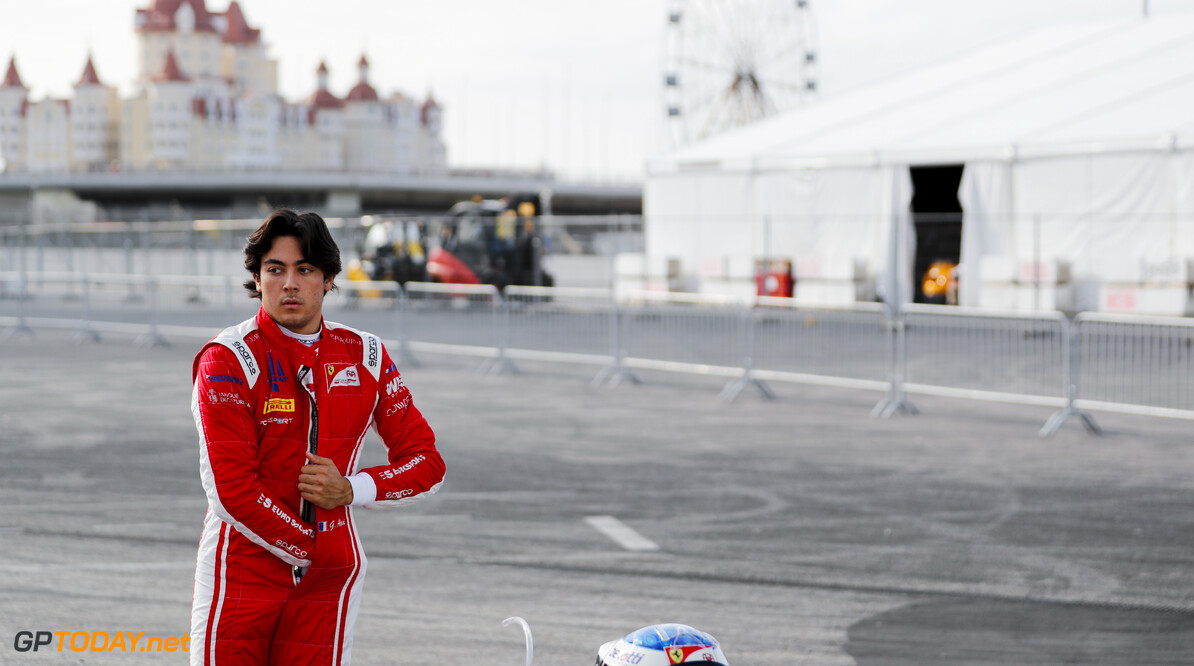 FIA Formula 2 SOCHI AUTODROM, RUSSIAN FEDERATION - SEPTEMBER 27: Giuliano Alesi (FRA, TRIDENT) during the Sochi at Sochi Autodrom on September 27, 2019 in Sochi Autodrom, Russian Federation. (Photo by Carl Bingham / LAT Images / FIA F2 Championship) FIA Formula 2 Carl Bingham  Russian Federation