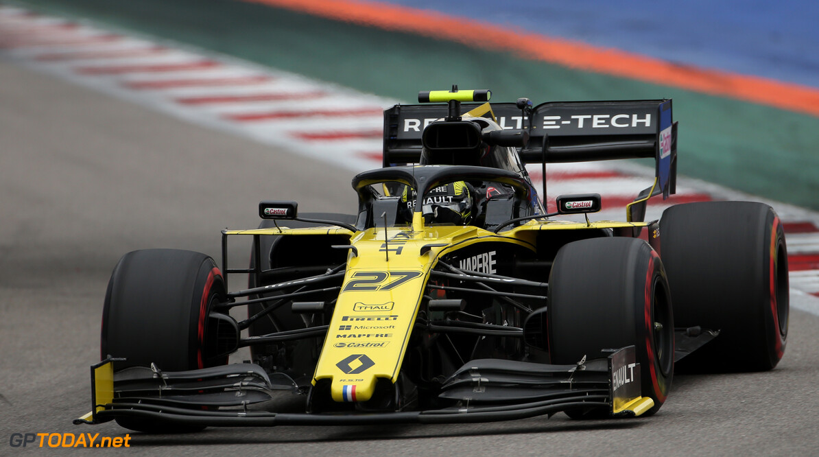 Formula One World Championship Nico Hulkenberg (GER), Renault Sport F1 Team  27.09.2019. Formula 1 World Championship, Rd 16, Russian Grand Prix, Sochi Autodrom, Sochi, Russia, Practice Day. - www.xpbimages.com, EMail: requests@xpbimages.com - copy of publication required for printed pictures. Every used picture is fee-liable. (C) Copyright: Charniaux / XPB Images Motor Racing - Formula One World Championship - Russian Grand Prix - Practice Day - Sochi, Russia XPB Images Sochi Russia  Formel1 Formel F1 Formula 1 Formula1 GP Grand Prix one Russia Russian Sochi Sochi Autodrom Sochi Autodrome Autodrome Autodrom Friday September Action Track 27 9 09 2018
