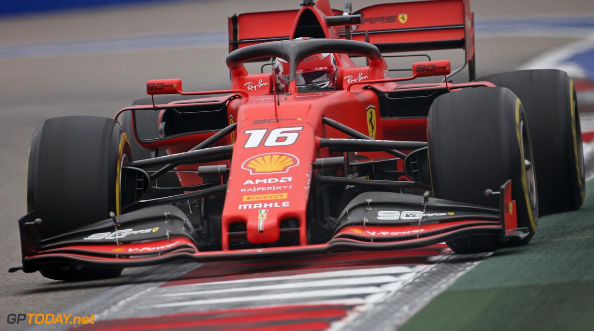 <b>VT3</b>: Leclerc en Vettel bovenaan in laatste oefensessie, Verstappen vijfde