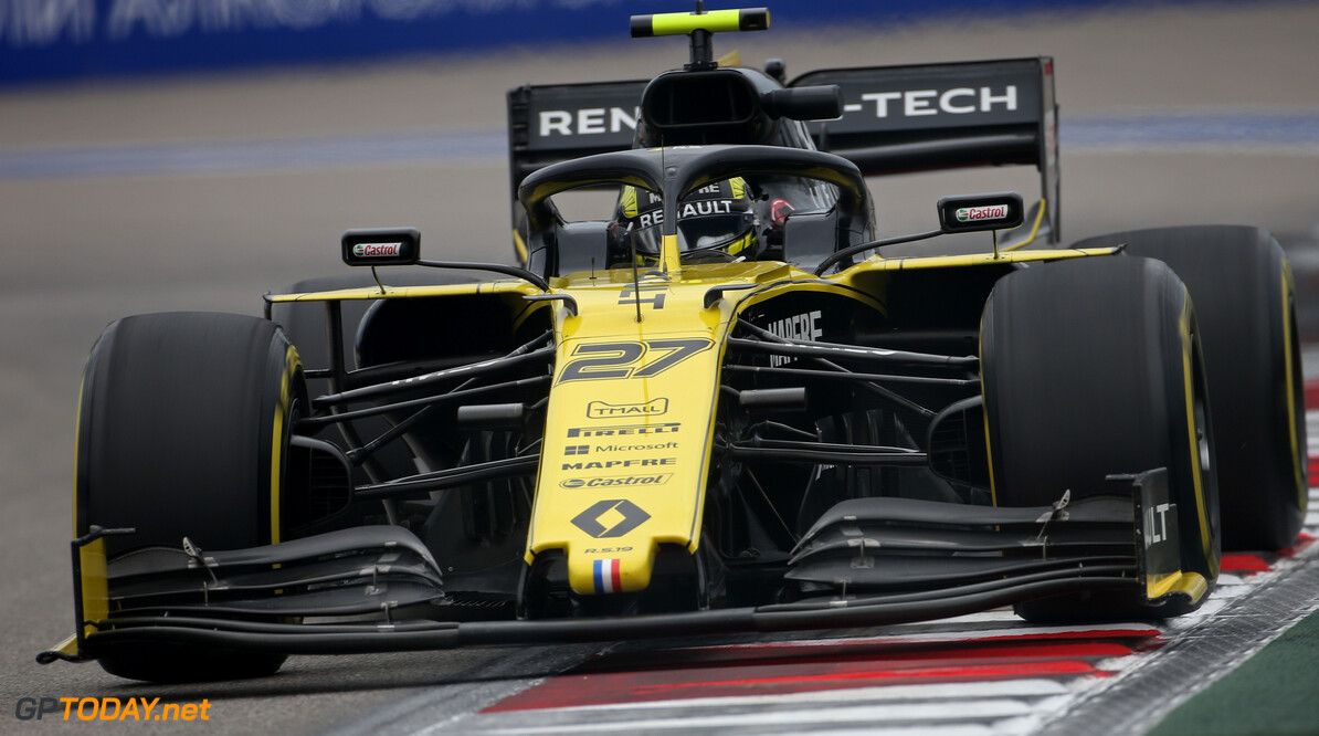 Formula One World Championship Nico Hulkenberg (GER) Renault F1 Team RS19.