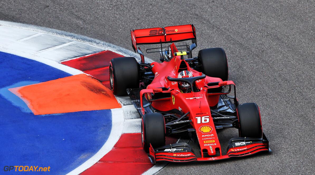 <b>Kwalificatie</b>: Leclerc pakt ook in Rusland pole position, Verstappen vierde