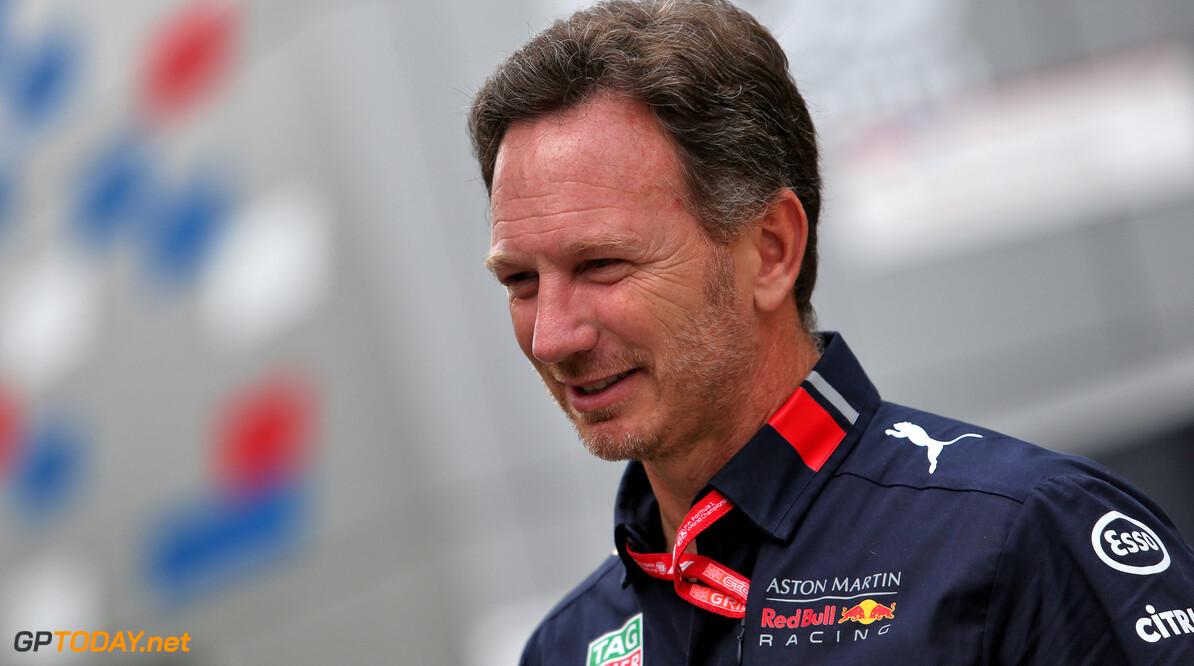 """Christian Horner: """"Verstappen had niet de snelheid voor strijd met de top drie"""""""