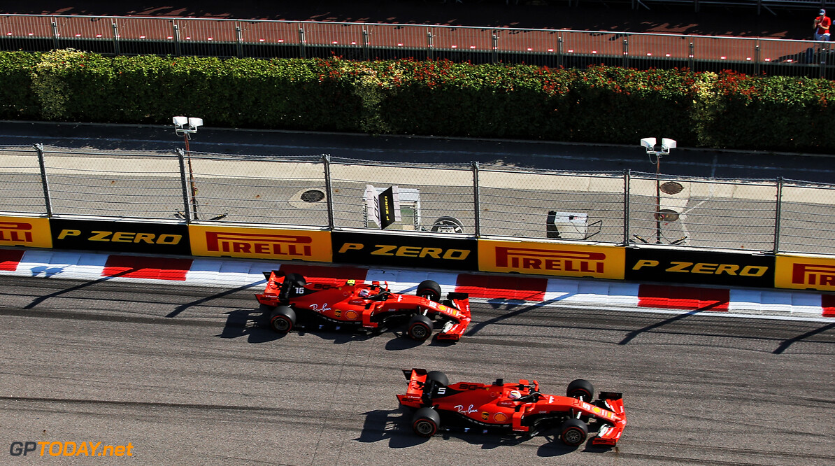Vettel stuck to pre-race Ferrari agreement