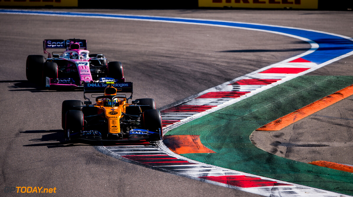 McLaren executed race 'perfectly' in Russia - Sainz