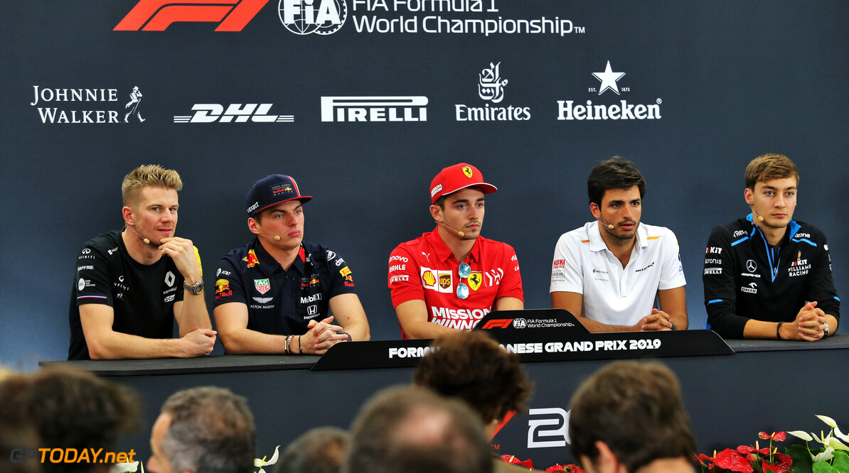 Press conference schedule for 2019 Mexican Grand Prix